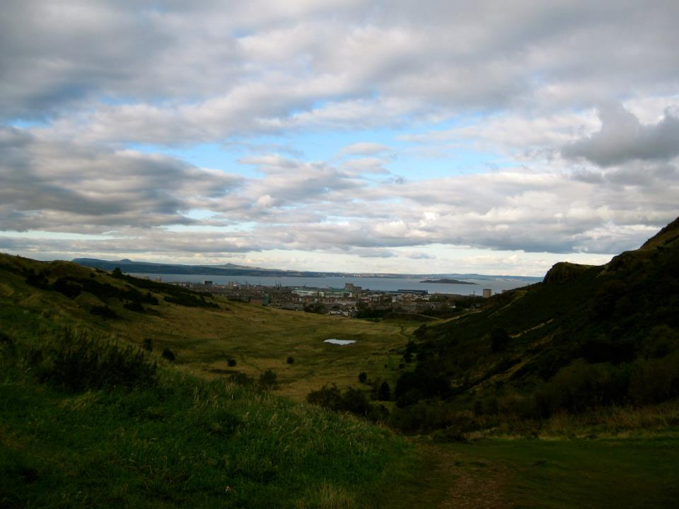 Hiking Arthur's Seat in Edinburgh