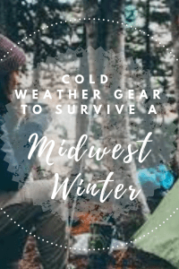Midwest Winter Gear Guide pinterest pin