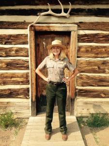 Park Ranger at Theodore Roosevelt National Park