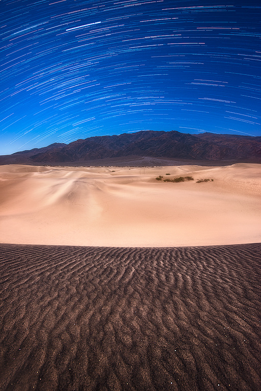 One Day in Death Valley National Park—Long Exposure Star Photography