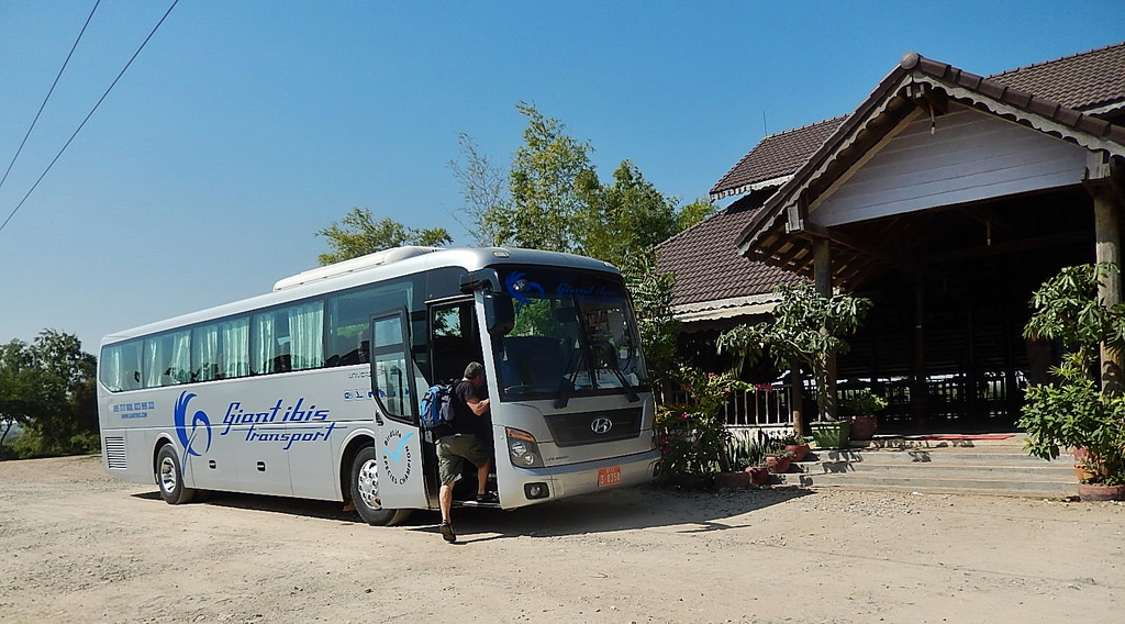 Best bus company in Cambodia   Giant Ibis