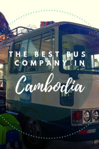 The Best Bus Company in Cambodia   Giant Ibis