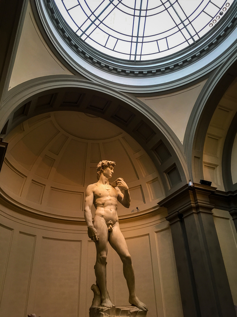 Michaelangelo's David, Galleria dell'Accademia | 10 Day Italy Itinerary