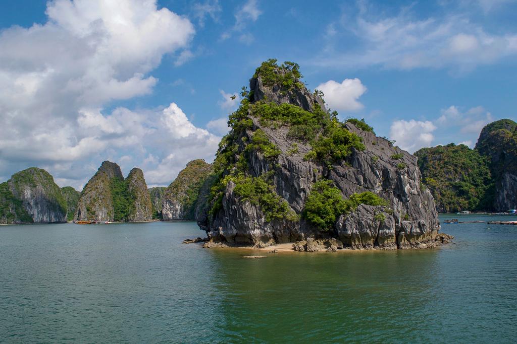 Limestone Karsts, Cat Ba Ventures Day Tour of Halong Bay, Vietnam