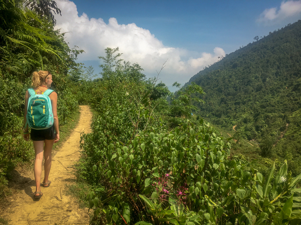 Trekking in Sapa, Ta Van Village from Hoang Kim Homestay