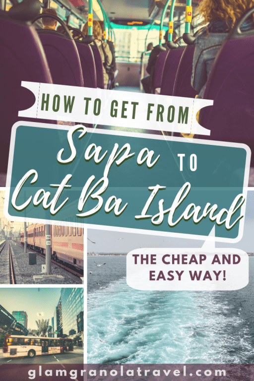 A tried-and-true guide to all the best bus companies and budget options for traveling from Sapa to Cat Ba Island (or Cat Ba Island to Sapa)! I have traveled this route several times and know how to make your journey almost as amazing as your destinations! If you're backpacking Vietnam, chances are you'll want to travel from Sapa to Cat Ba, so check it out! #Sapa #CatBa #CatBaisland #Vietnam #backpacking