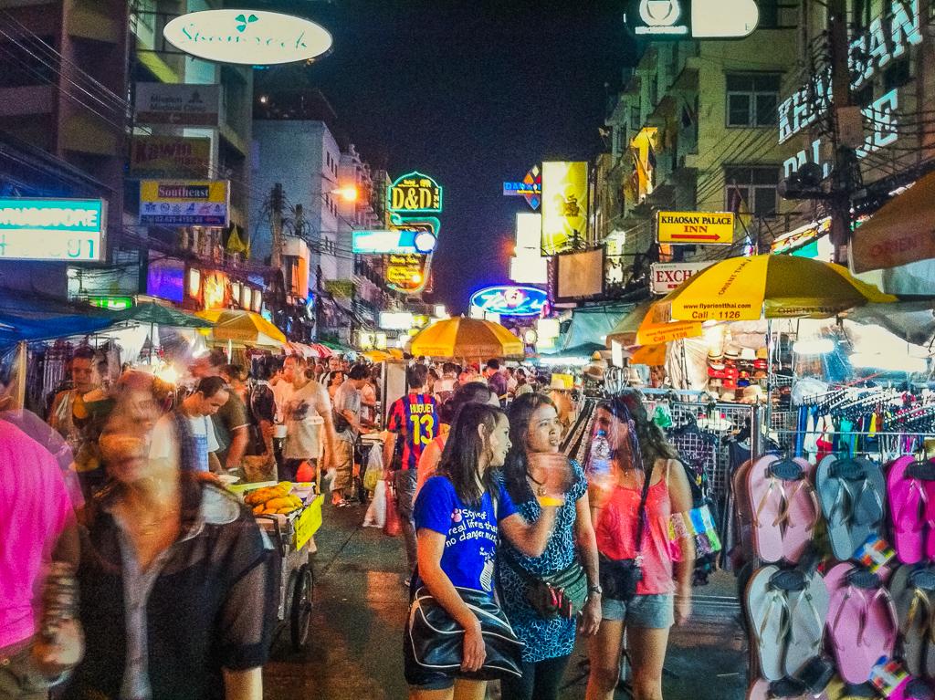 4 Day Bangkok Itinerary | Khao San Road