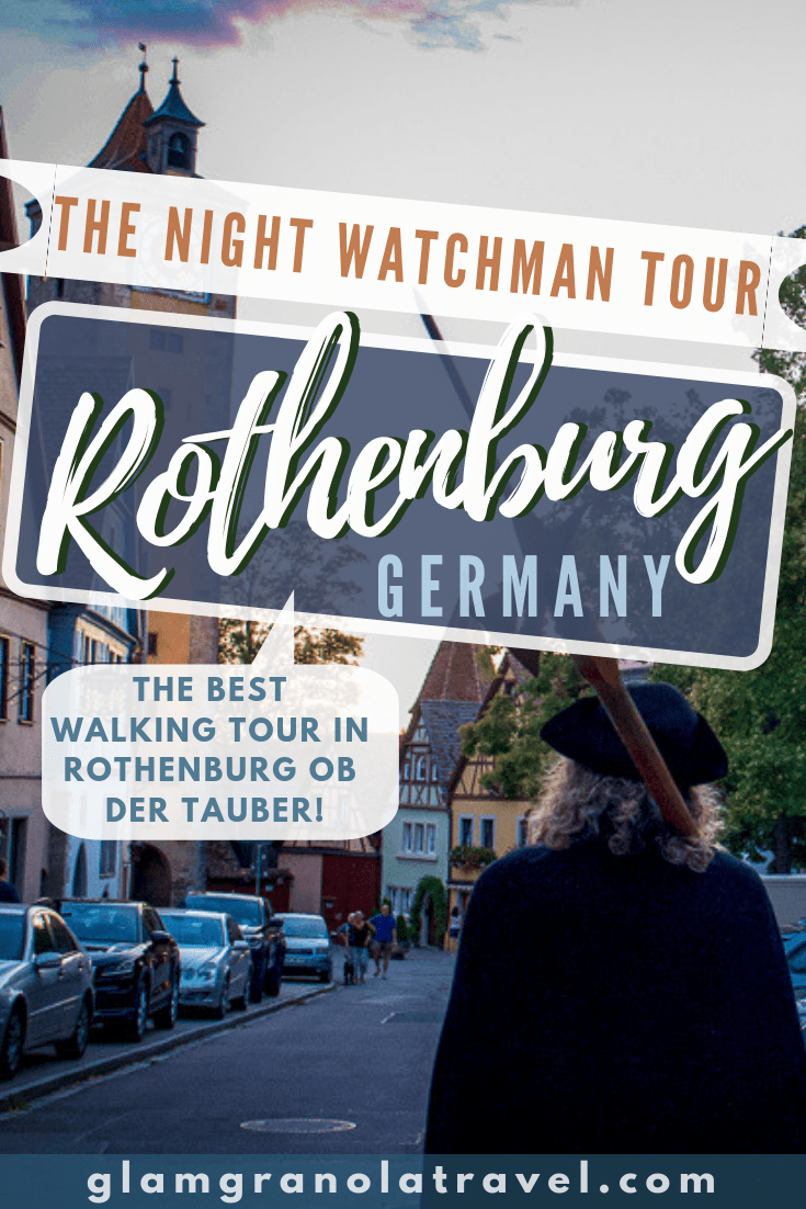 If you\'re visiting Rothenburg ob der Tauber, you literally MUST experience the entertaining, historical, and affordable Night Watchman Tour! The Rothenburg Night Watchman Tour was certainly my favorite city walking tour of all time, and as a budget backpacker I\'ve been on a few! Here\'s everything you need to know about this experience, and why it\'s worth a trip to Rothenburg! #Germany #Bavaria #Rothenburg #RothenburgODT