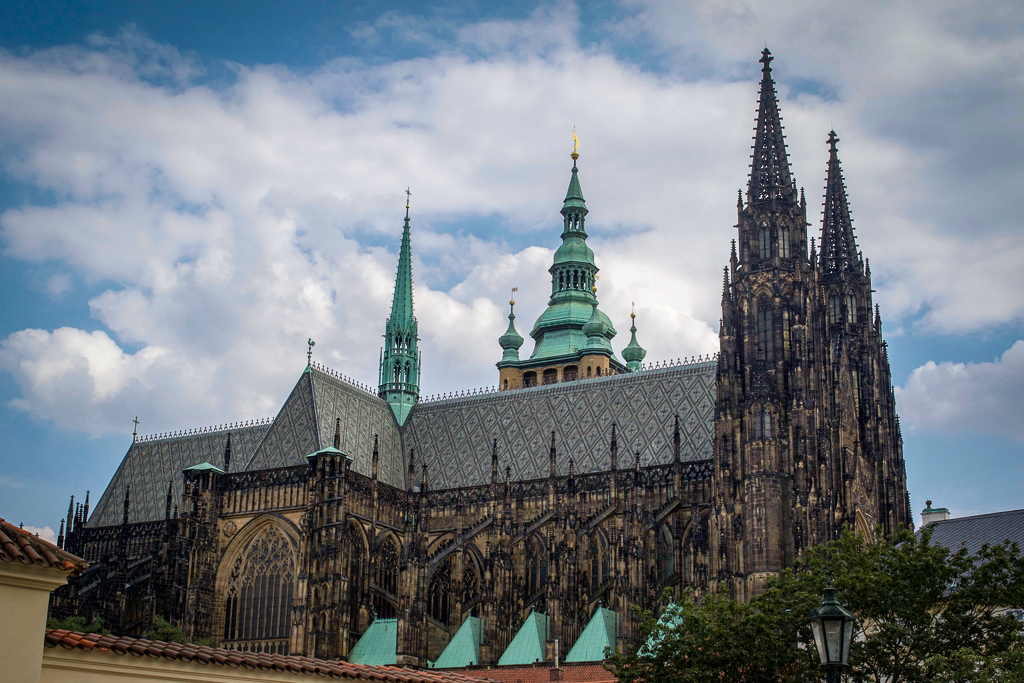 St Vitus Cathedral up close 4 days in Prague