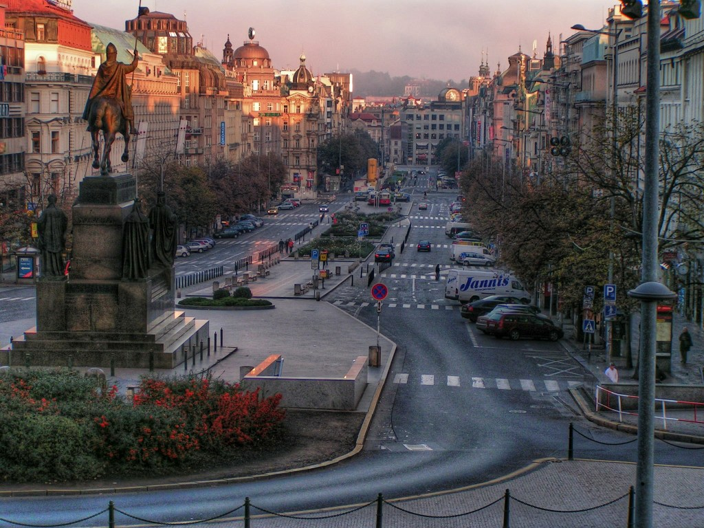 See Wencelas Square in your four days in Prague