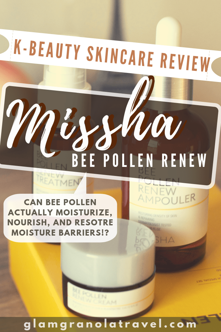 K-beauty skincare has some fascinating ingredients... but bee pollen is officially one of my favorites. Check out my review of the incredibly nourishing Missha bee pollen renew line, straight from my Seoul K-beauty haul! I tried the entire Missha bee pollen renew set, from the ampouler, toner treatment, and moisturizing cream, to give YOU the down-low on the benefits of bee pollen. Spoiler alert: Missha has done it again! #kbeauty #koreanbeauty #koreanskincare