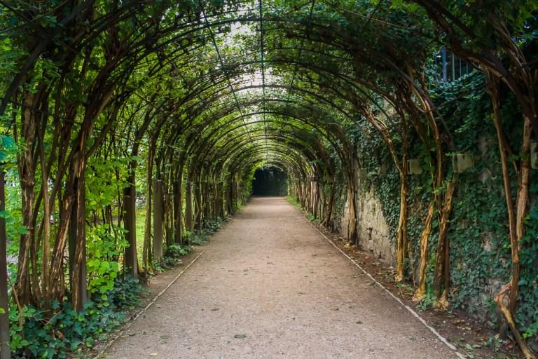 A gorgeous maze in Mirabell gardens, Salzburg