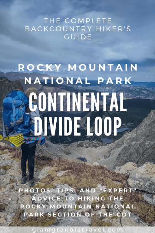 Continental Divide Loop pin