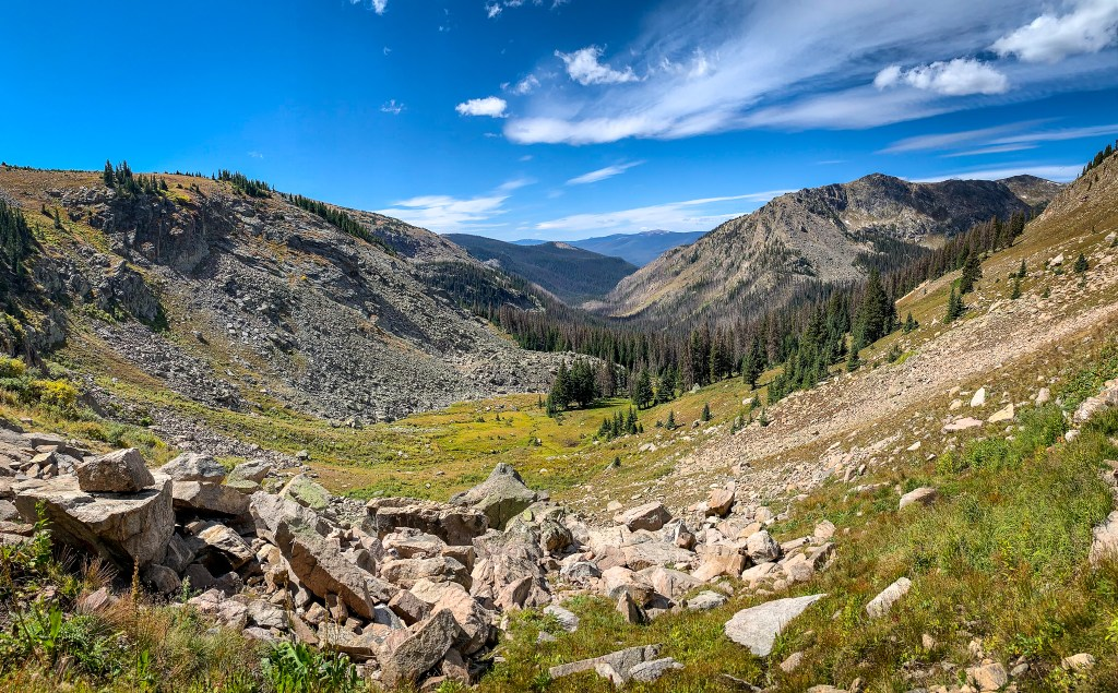 Hiking where the trees meet tundra in Rocky Mountain National Park