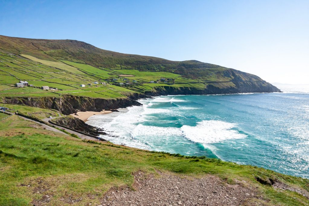 Beach along Dingle Peninsula, Ireland