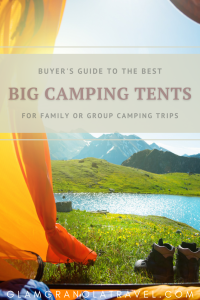 Big tent buyer's guide pinterest pin