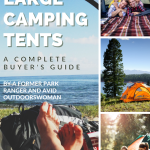Best large camping tents pinterest pin