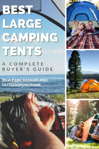 Best large camping tents buyer's guide pinterest pin