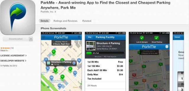 Park Me App