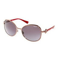 Vogue Round Light Pink Sunglasses