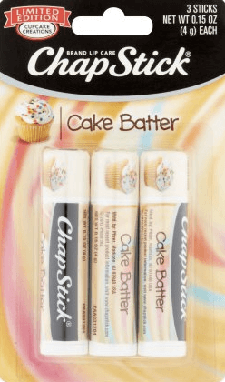 S.W.A.K! Cake Batter Chapstick (and other yummy flavors!) | GlamKaren.com