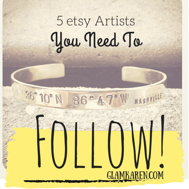 5 etsy Artists you NEED to Follow!