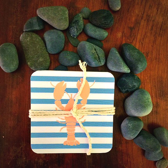 THE best nautical items to wear ... plus lobster prints and coasters! LOVE this Cleveland shop! GlamKaren.com