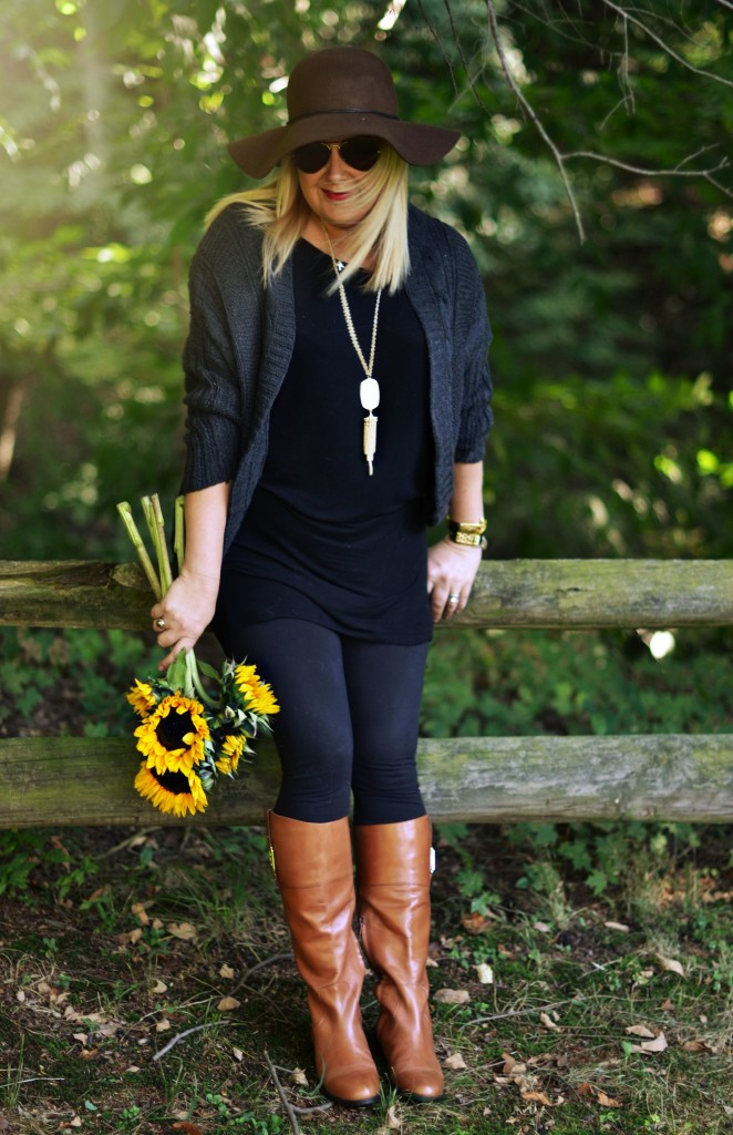 Fall Wardrobe on a Budget - Can you believe this cozy fall sweater is UNDER $10! GlamKaren.com