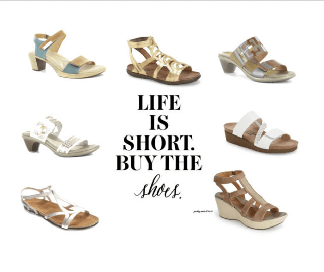 "he little voice in your head that says, ""Buy the Shoes""... that's the one to listen to! 