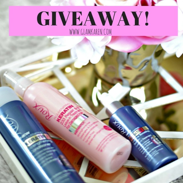 GIVEAWAY! The Cruelty-Free Hair Products that Celeb Stylists Use on the Set! #RouxBeauty | GlamKaren.com