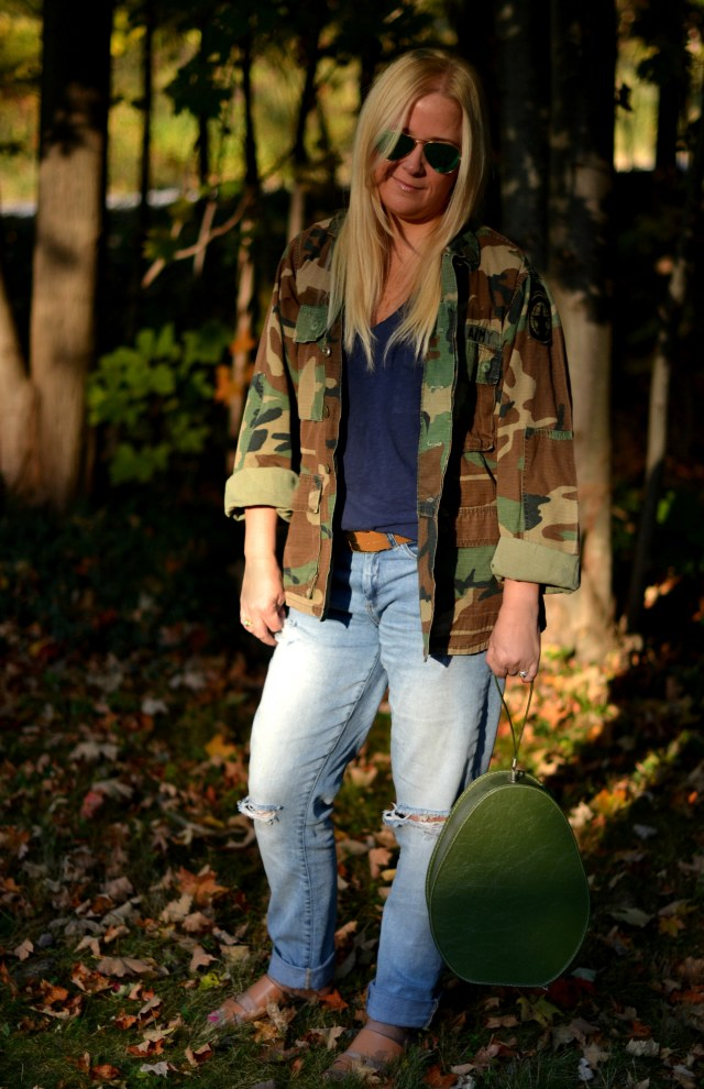 How to Wear Camo in the Fall to be on Trend & Stylish | GlamKaren.com