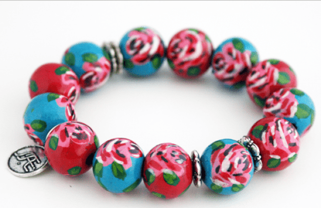 Unique Hand Painted Jewelry | GlamKaren.com