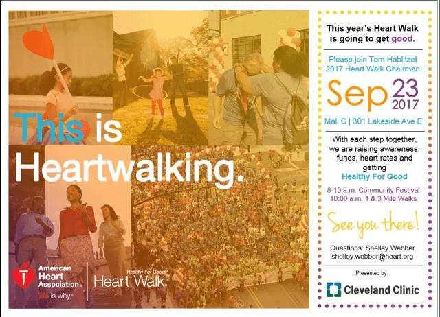American Heart Association Heart Walk 2017