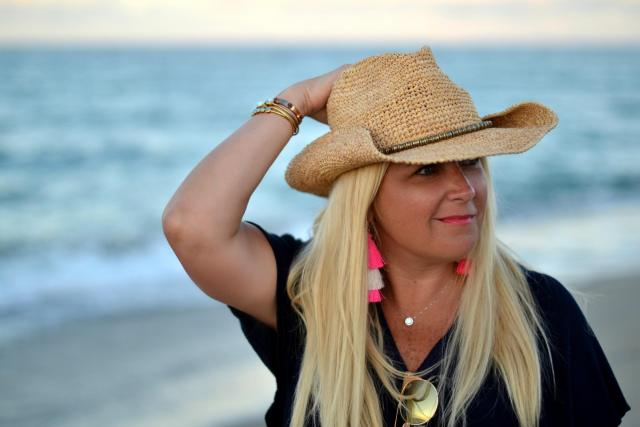 The Perfect Summer Hat with Soft Surroundings | GlamKaren.com