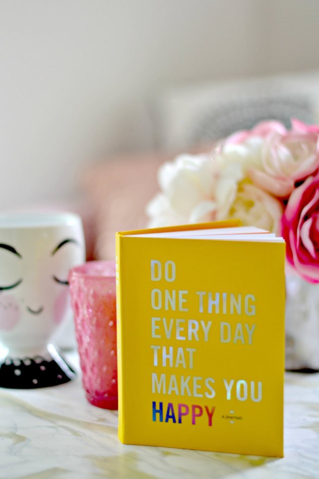 Do One Thing Everyday That Makes You Happy!