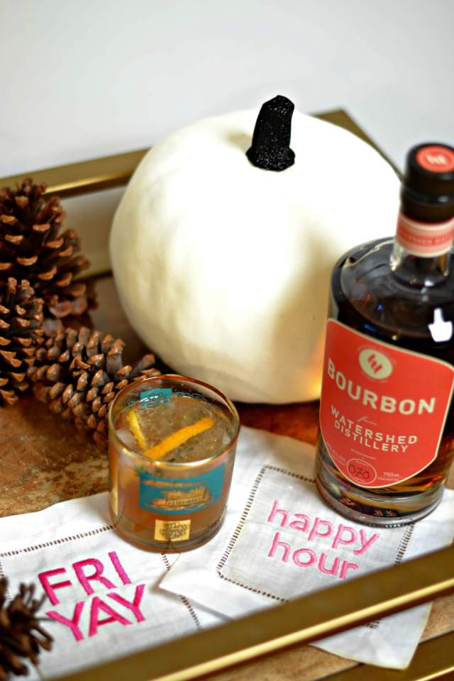 Cheers to Seasonal Fall Cocktails (Easy Cider & Bourbon Recipe Included)