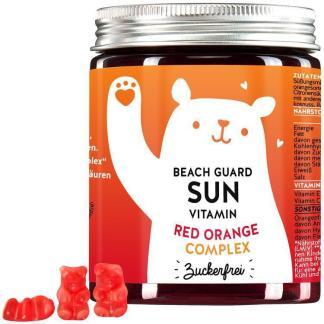 BEARS WITH BENEFITS BEACH GUARD SUN VITAMINS MIT RED ORANGE COMPLEX™