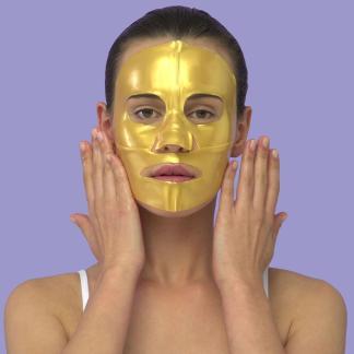 Skin Republic Gold Hydrogel Gesichtstuchmaske