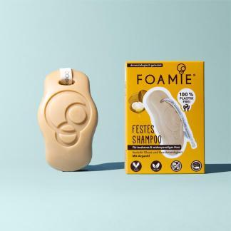 Foamie Festes Shampoo Arganöl für widerspenstiges Haar