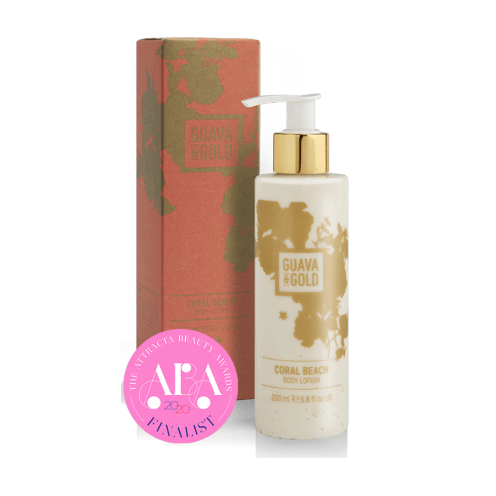 Guava & Gold Coral Beach Body Lotion