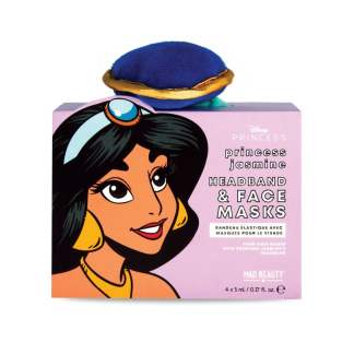 Disney POP Princess Gesichtsmaske & Stirnband Set Jasmine