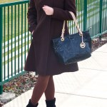 Brown, Mustard and Red – Winter Outfit Idea