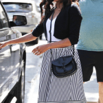 Gabrielle Union Wearing Forever 21 Skirt and Bag