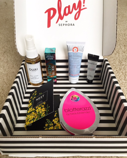Sephora Play Subscription Box