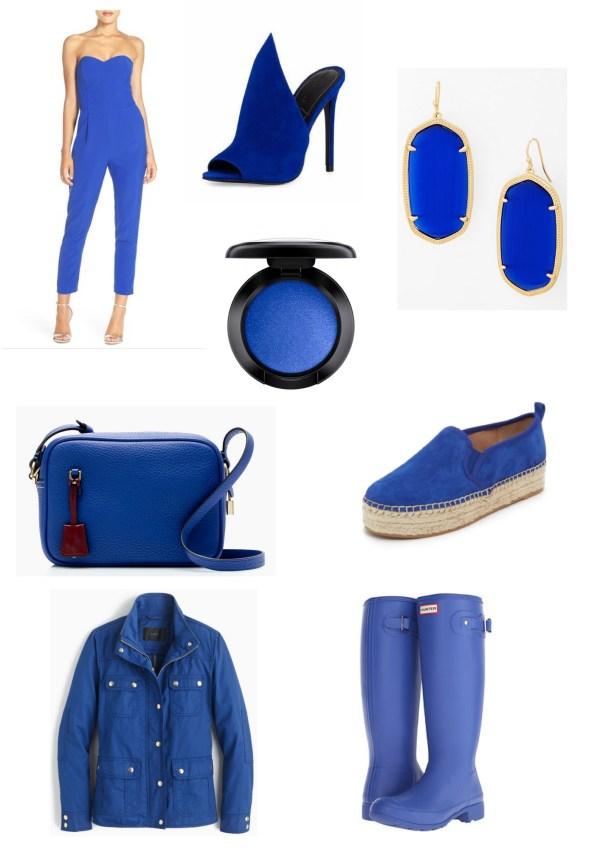 Blue Fashion Board