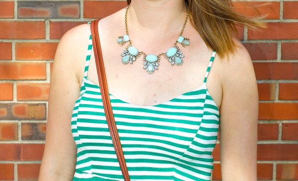 Urban Gem Paisley necklace