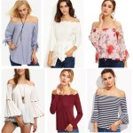 Spring Crushes – Off The Shoulder Tops and Pastel Pink