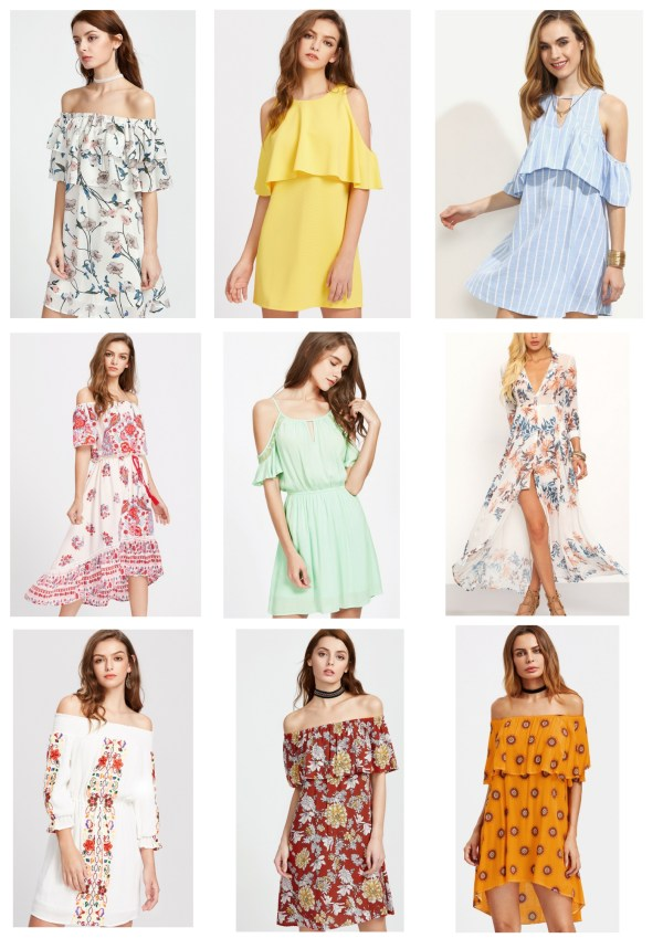 Spring and Summer Dresses from SheIn