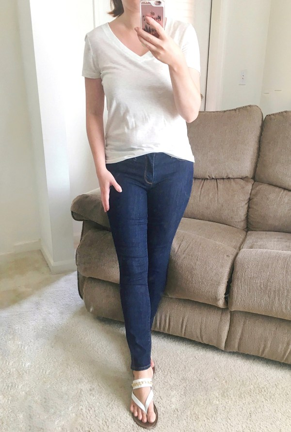 Mid Rise True Skinny Ankle Jeans
