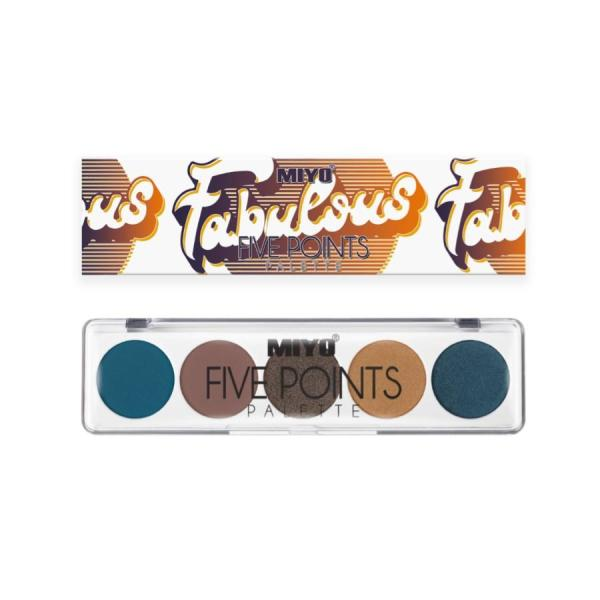 5 Points Eye Shadow Limited Edition 4